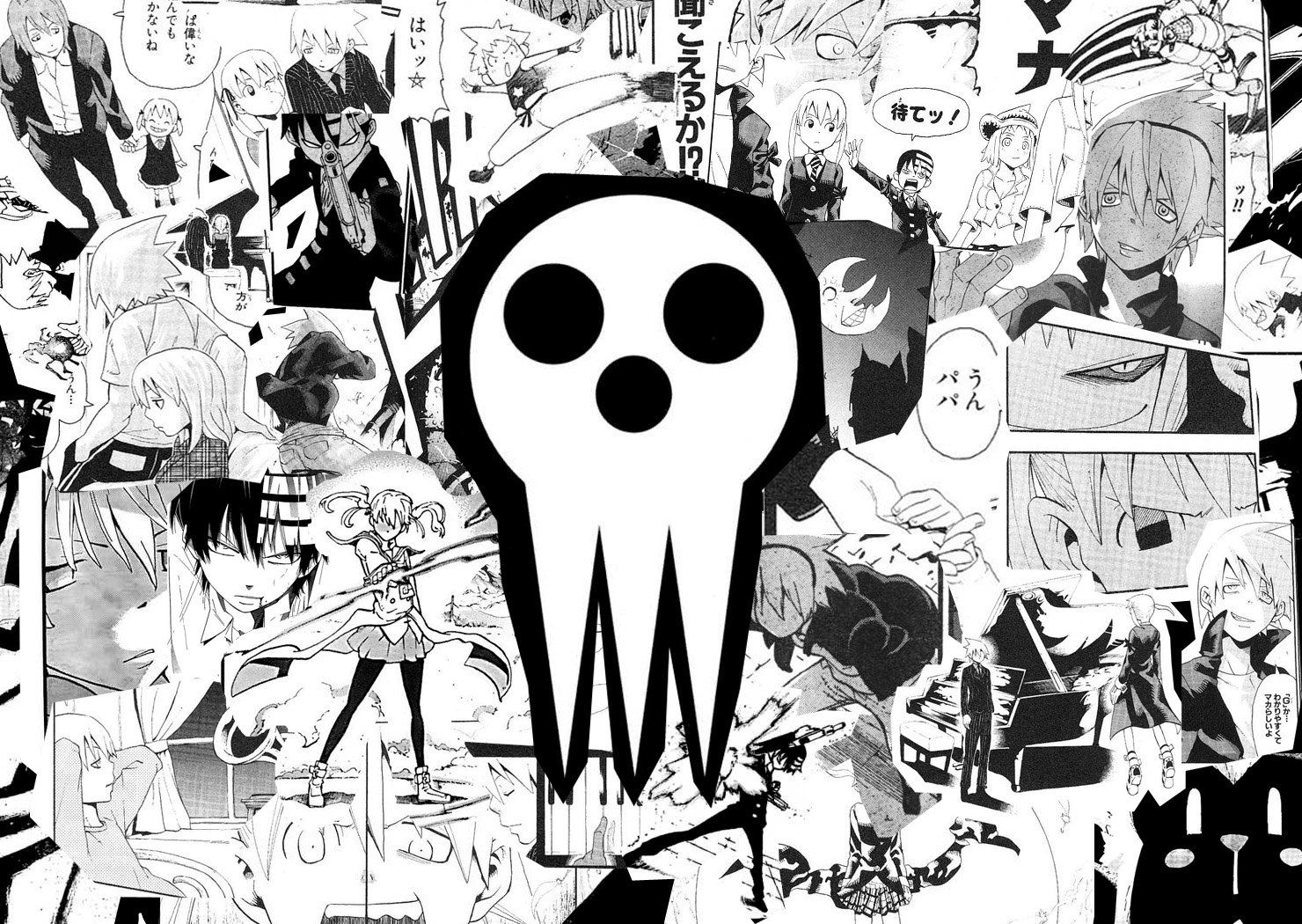 Soul Eater Wallpaper 1366x768 Soul eater, Soul eater