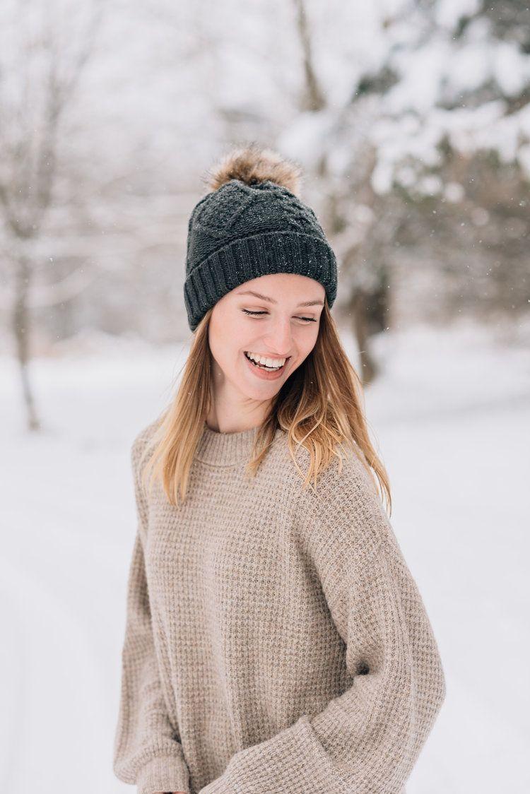 Friend Senior Shoot in the Snow | Carroll County Maryland Senior Portrait Photographer | Union Bridge, MD — Carroll County Maryland Senior Portrait Photographer and Equine Photographer | Naturally Vivid Photography