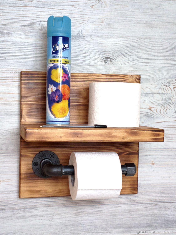 farmhouse toilet tissue holder