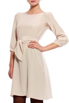 Greta   Hanna Thin Silk Dress Beige  44e6f707a32ac