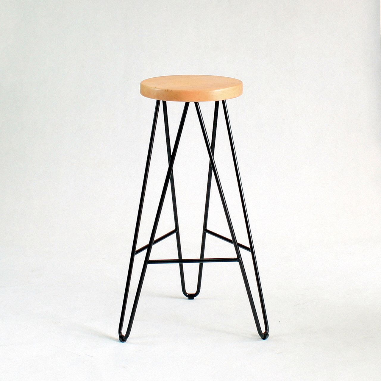 Bar Stool With Hairpin Legs Awesome Quality Boformi In
