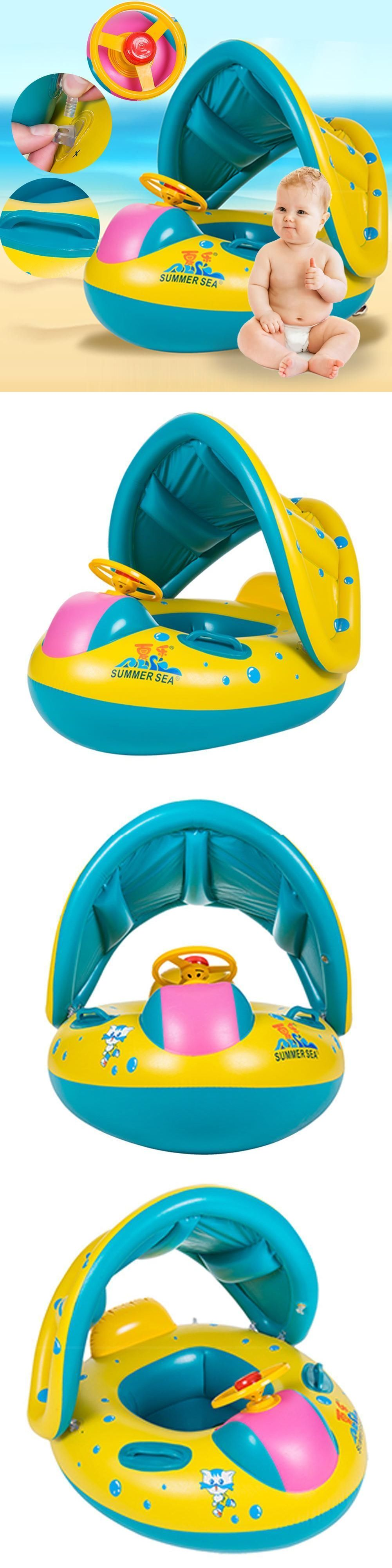 Bath Tub Seats and Rings 162024: Kids Inflatable Ring Yacht ...