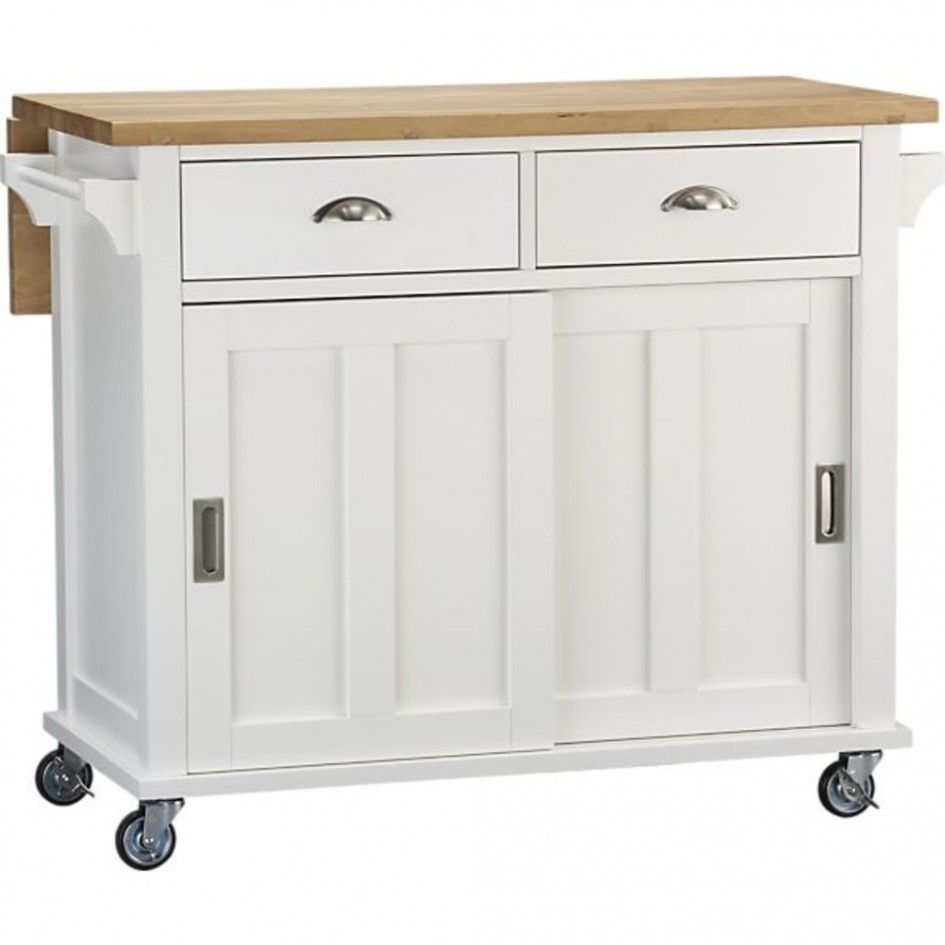 Chic Kitchen Islands On Wheels Ikea With Recessed Cabinet Door Pulls