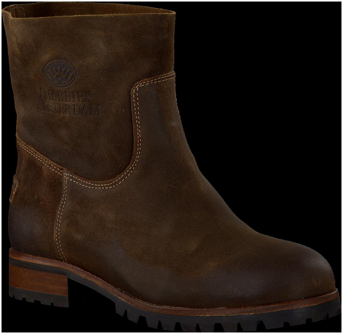 Brown Shabbies Ankle Boots omoda.nldameslaarzen