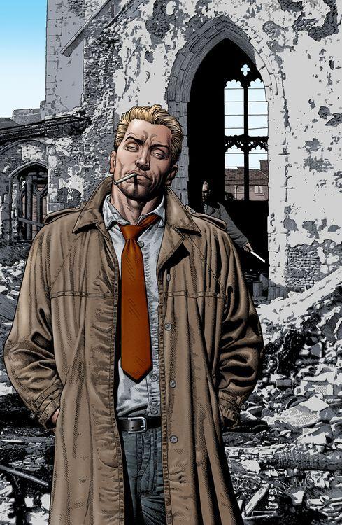 Failed Mad Scientist John Constantine Dc Comics Art Constantine