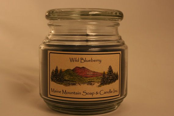 16oz. Accent Jar Candle by MaineMountain on Etsy, $18.98