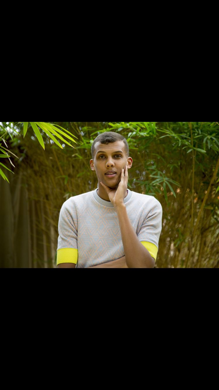 Stromae, when he was beginning his tour of America in Texas :D