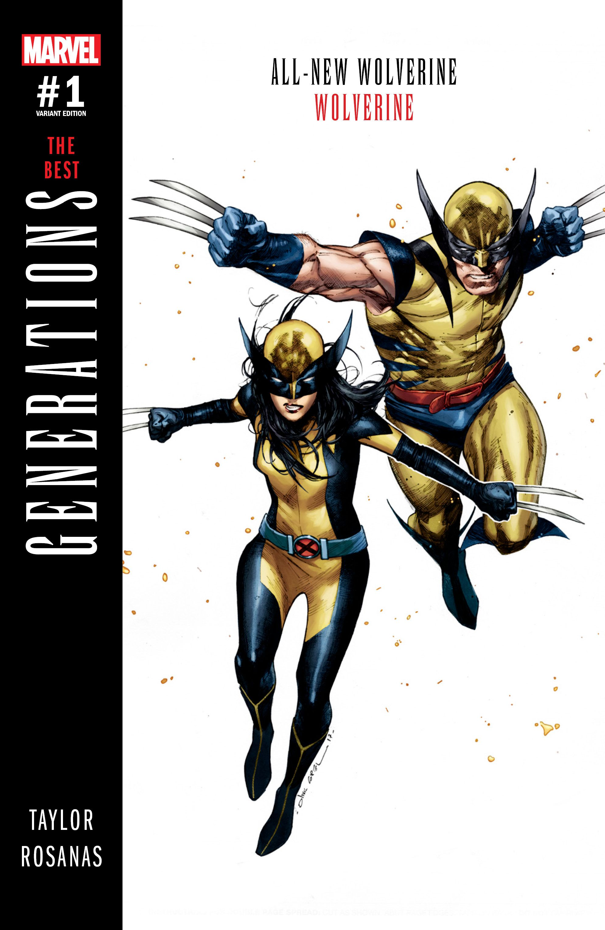 Image result for generations wolverine & all new wolverine #1