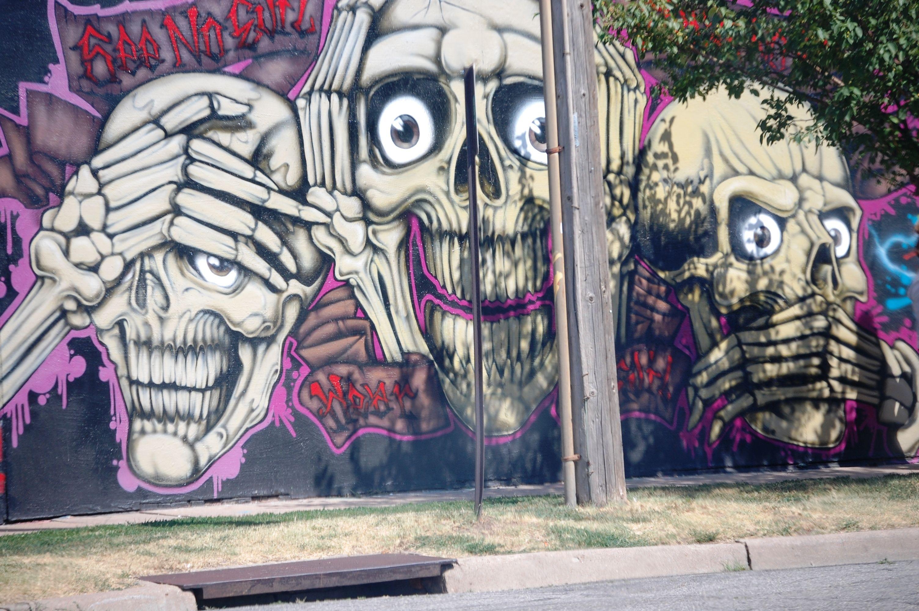 Graffiti wall toronto downtown - Wall Art In Wichita Kansas