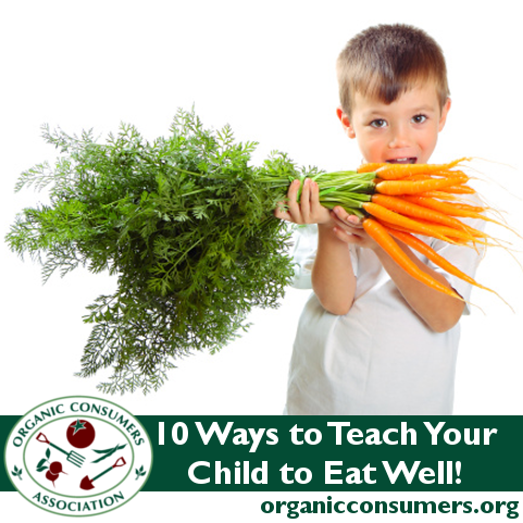 10 Ways to Teach Your Child to Eat Well Eating well