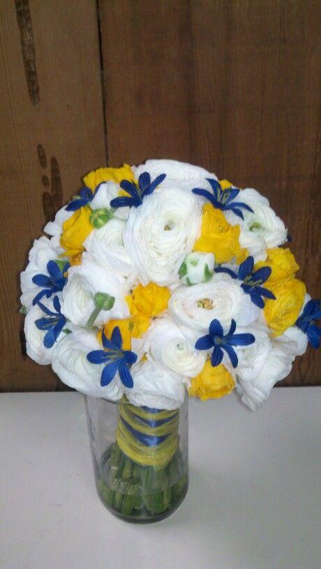 Beautiful rananculus bridal