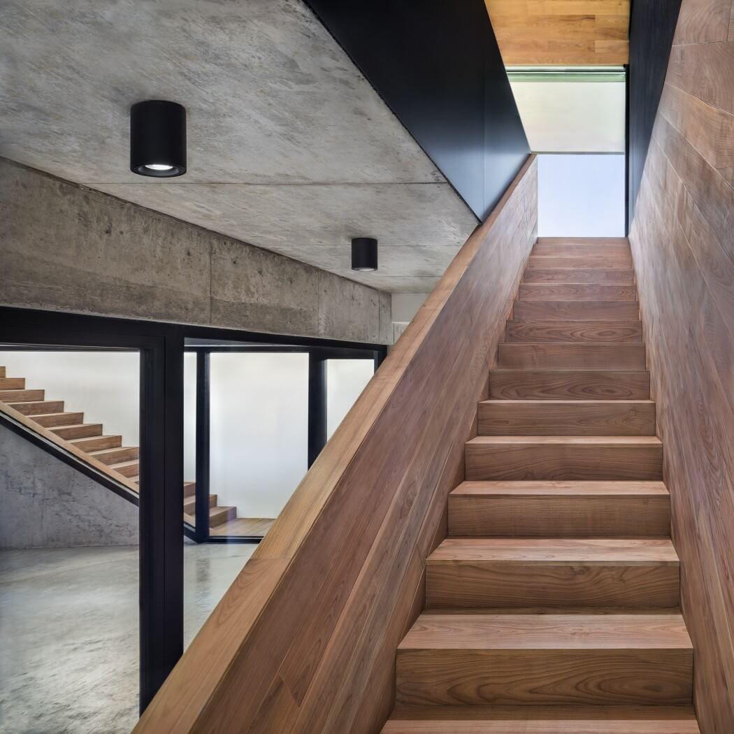 escalier exterieur fait maison