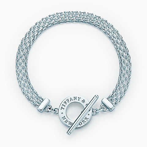 Tiffany Somerset Toggle Bracelet In Sterling Silver Medium
