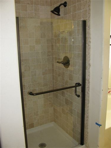 stand up shower tiled stand up shower bathrooms bath 28530