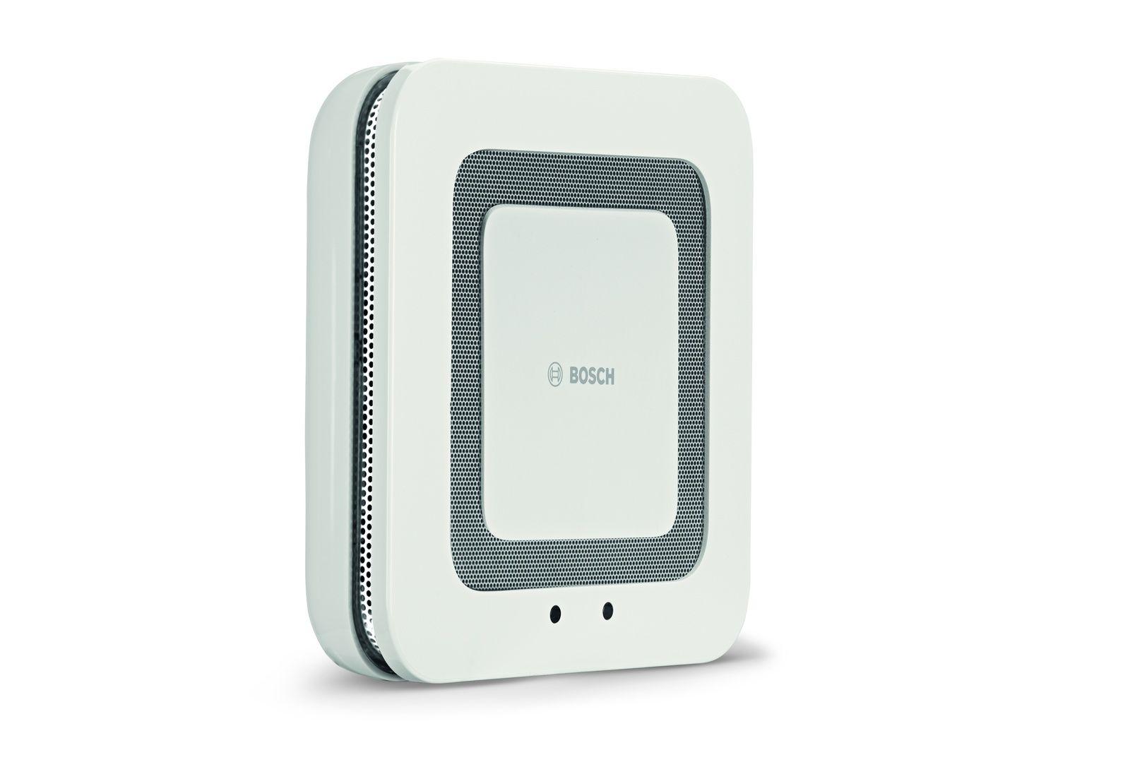 Bosch Smart Home Twinguard Smoke Alarm With Air Sensor Minimalistische Wonen
