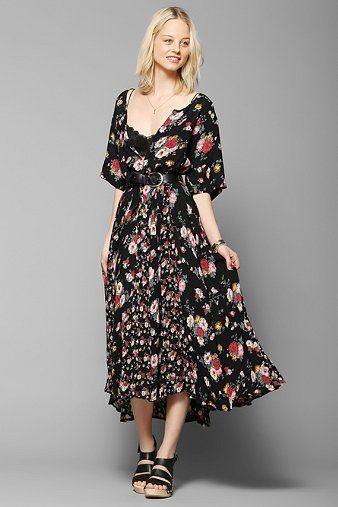 Urban Renewal '90s Blossom Maxi Dress