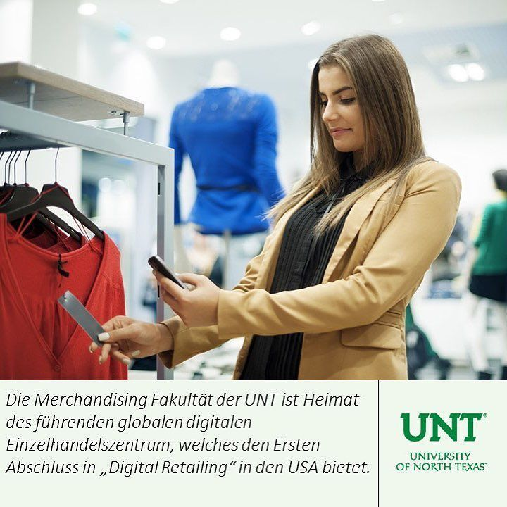 Learn about opportunities offered for international students at #unt in German  #educationusa #studyabroad  Find out other majors with the link on the bio  by go2unt