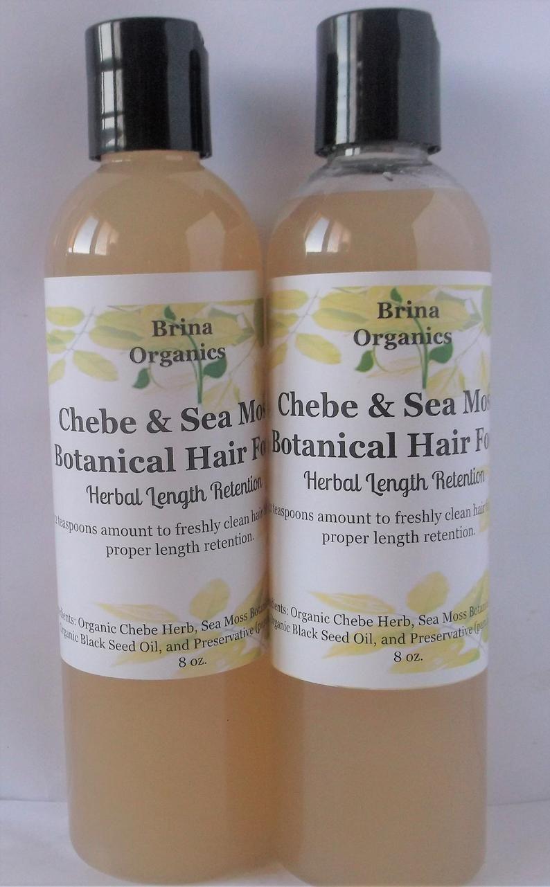 Organic African Chebe & Sea Moss Botanical Hair Food 8 oz. or | Etsy
