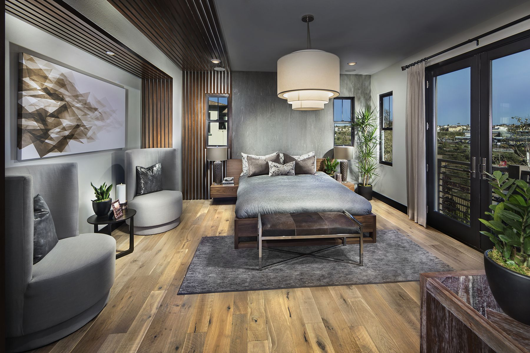 Olvera, in collaboration with Pardee Homes 2017 ICON