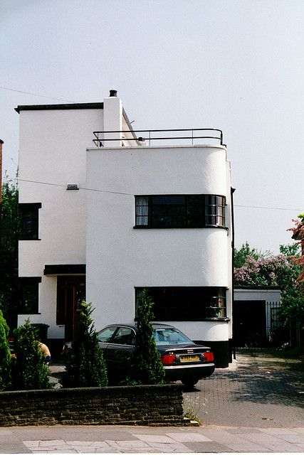 art deco house bexleyheath houses i like pinterest art deco