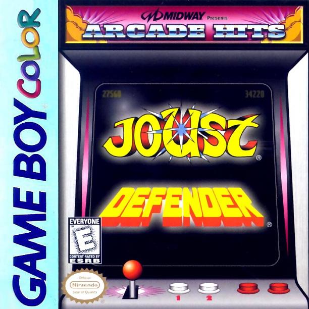 Joust & Defender Nintendo Game Boy Color | Nintendo Game Boy Color ...