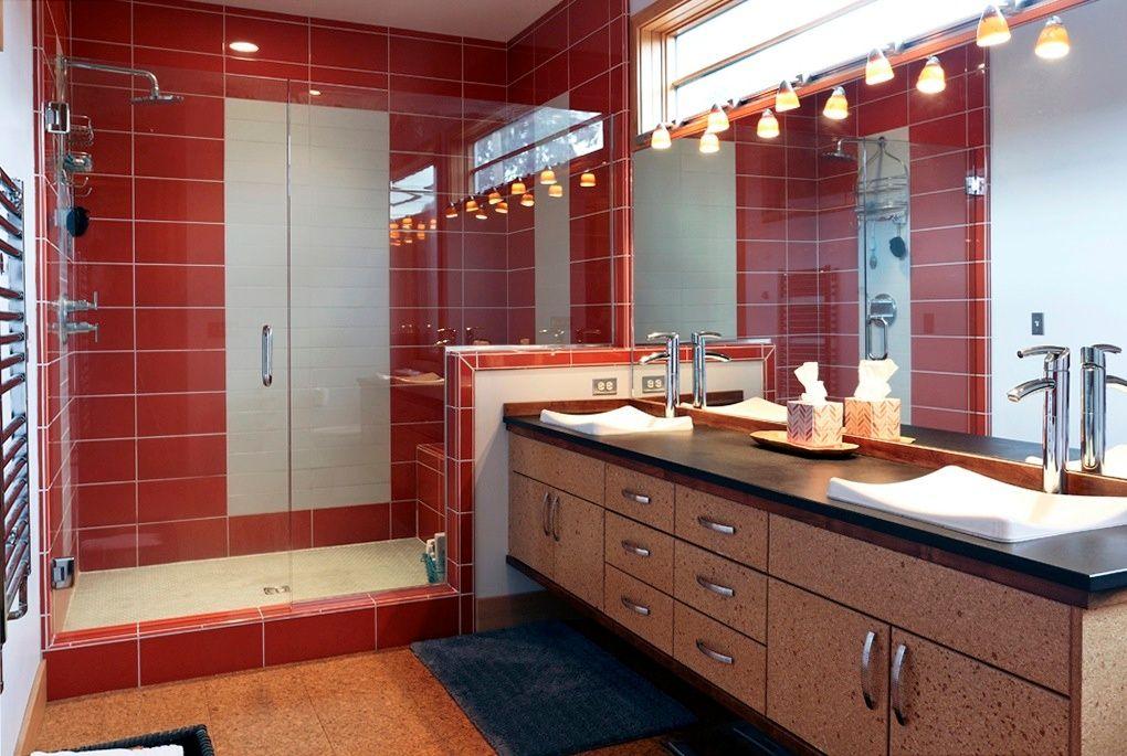 Contemporary Master Bathroom With Kohler Demilav Wading