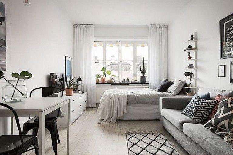 13 Best Minimalist And Simple One Room Apartment Ideas