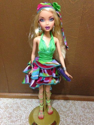 Barbie My Scene Kennedy Project Runway Doll Blonde Hair Ruffled ...
