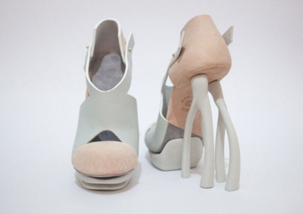 9c96674d1d937 64 Strangest   Catchiest 3D Printed Shoes   Magazines, Lifestyle and ...