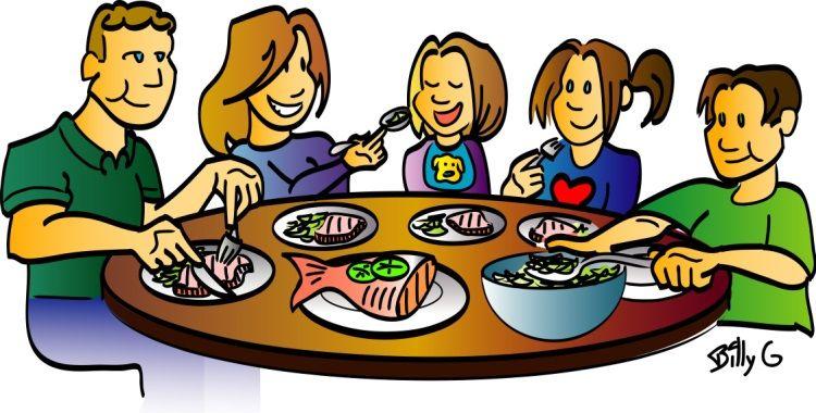 Paper Or Plastic Or Ceramic Dining Etiquette Clip Art Family Restaurants