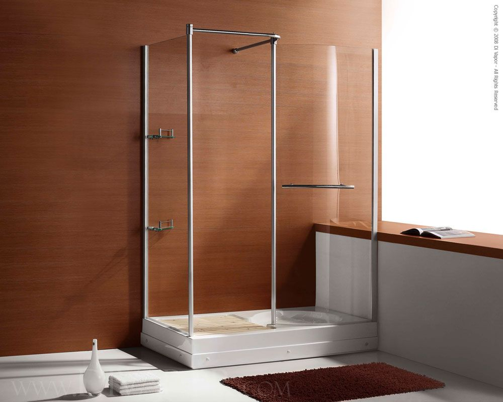 Acrylic Shower Enclosures With Seat | Bathroom & Toilet - Designs ...