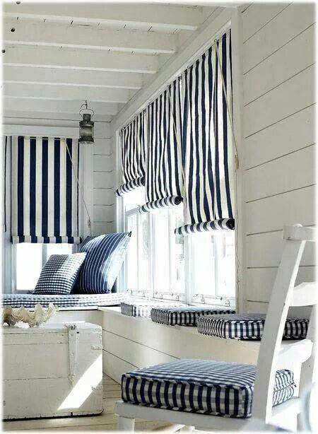 Huisje Kijken With Images Cottage Curtains Beach House