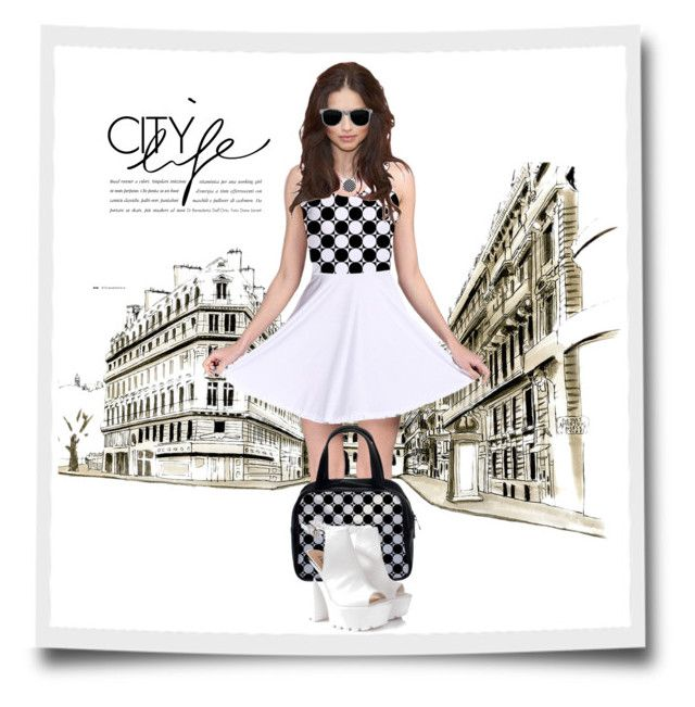 """City Life"" by elena-indolfi ❤ liked on Polyvore featuring Glamorous"
