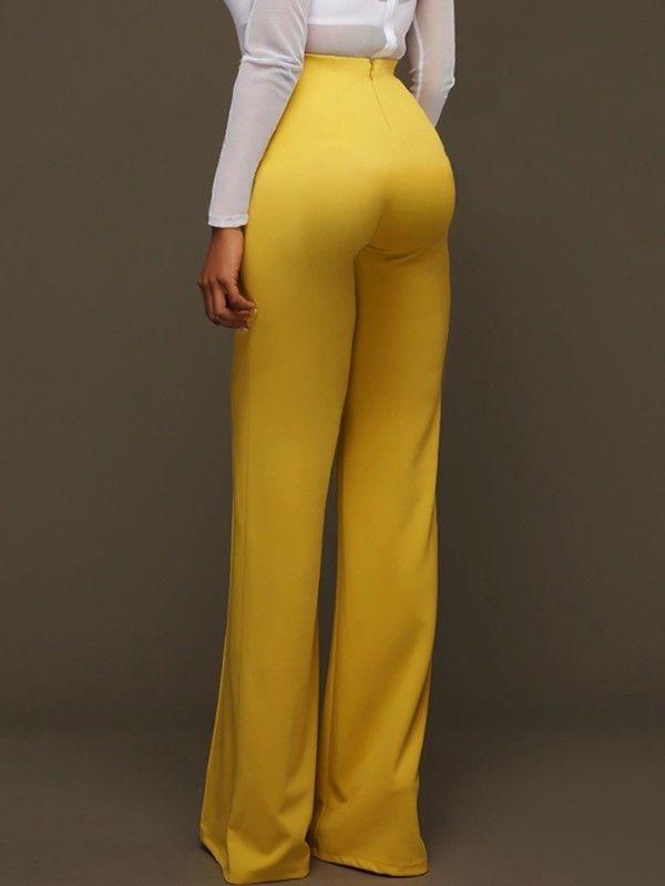 22 Ideas De Pantalon De Tela Mujer Ropa Moda Pantalon De Tela Mujer