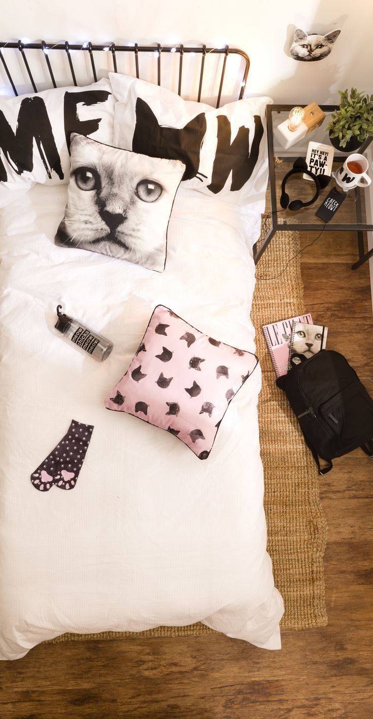 Typo Stationery Gifts Home Living Accessories More Cat Bedroomkawaii