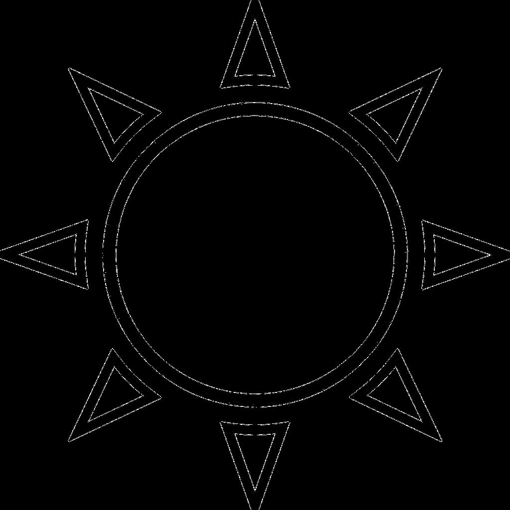 Clear 149826 12801 Png 1024 1024 Sun Outline Sun Tattoo Tattoo Templates