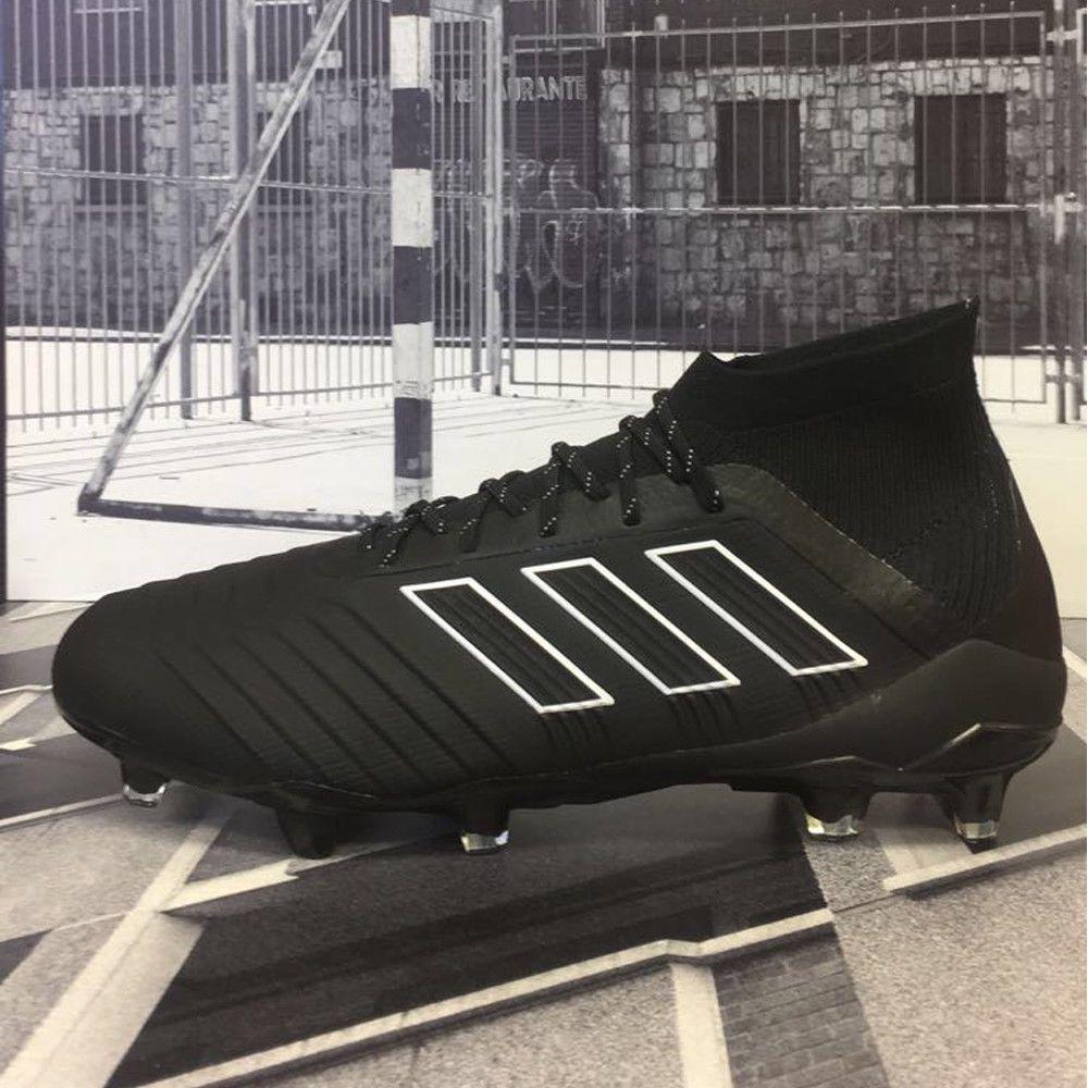 baaf8c53efe2 adidas Men s Predator 18. 1 FG Core Black DB2038