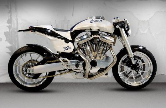 Avinton Motorcycles is Wakan Reborn, a French S V-Twin sport bike