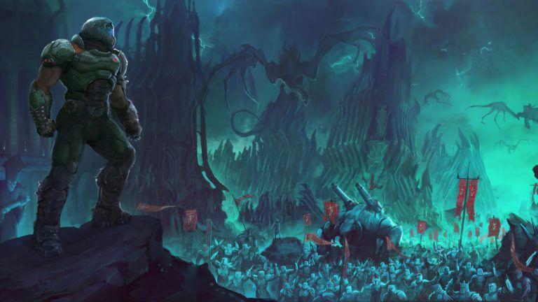 Download 4k Wallpapers Of 2019 Doom Eternal 2019 Games Wallpapers 4k Wallpapers 5k Wallpapers Doom Ete In 2020 Video Game Art Mac Wallpaper Background Hd Wallpaper