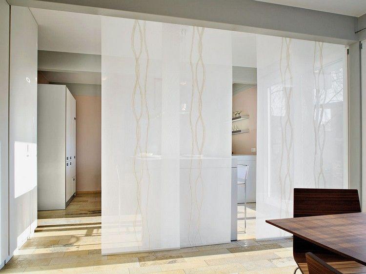 panneau japonais pour une ambiance zen et un d cor serein panneau japonais salle manger et. Black Bedroom Furniture Sets. Home Design Ideas