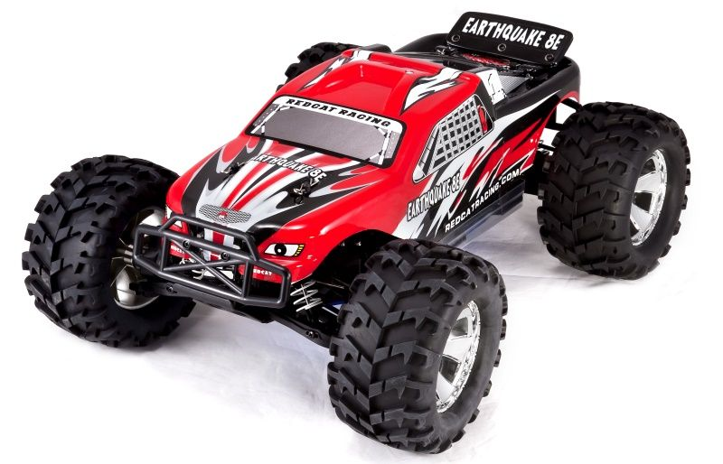 Redcat Racing Earthquake 8e 1 8 Scale Brushless Electric Monster Truck Redcat Racing Monster Trucks Trucks