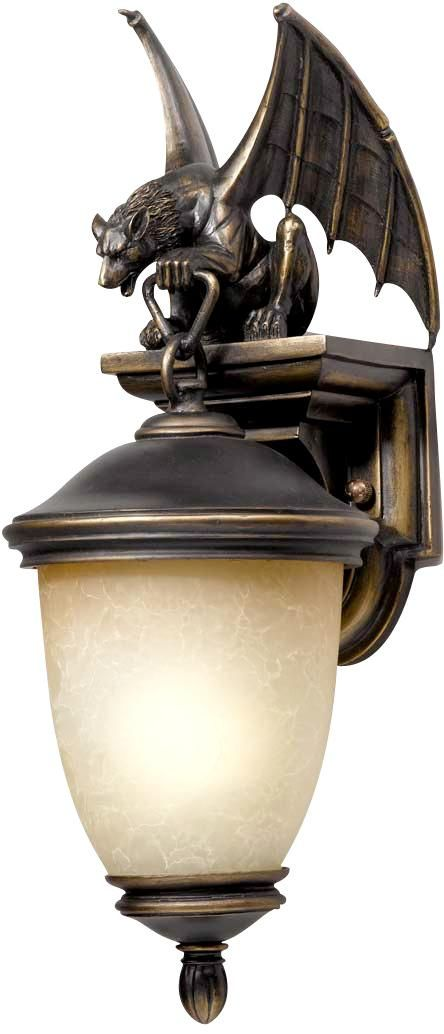 Gargoyle Energy Efficient 20 High Outdoor Wall Light Outdoor