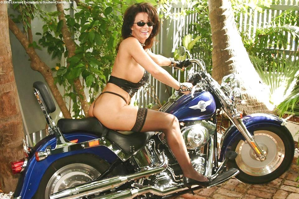 on motorcycles milfs