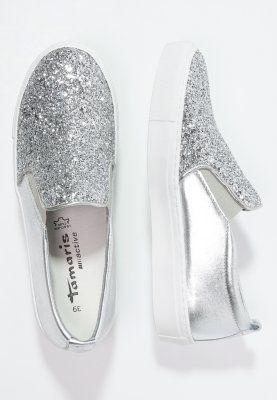 Tamaris Slipper silver | Tamaris, Sneakers