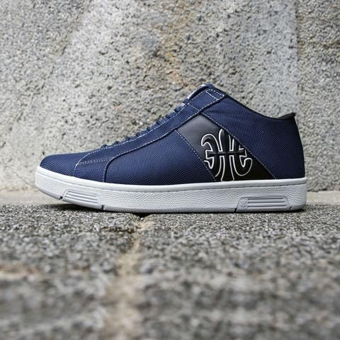 ROYAL ELASTICS Men's Icon Washed Mid Dark Blue Textile High Tops 02774-595 sale outlet store cheap sale order free shipping discount sale authentic latest collections online Mcg7aUzNi