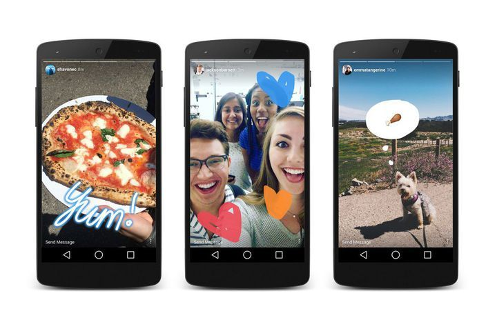 Instagram copies Snapchat again with one-handed zoom for Stories