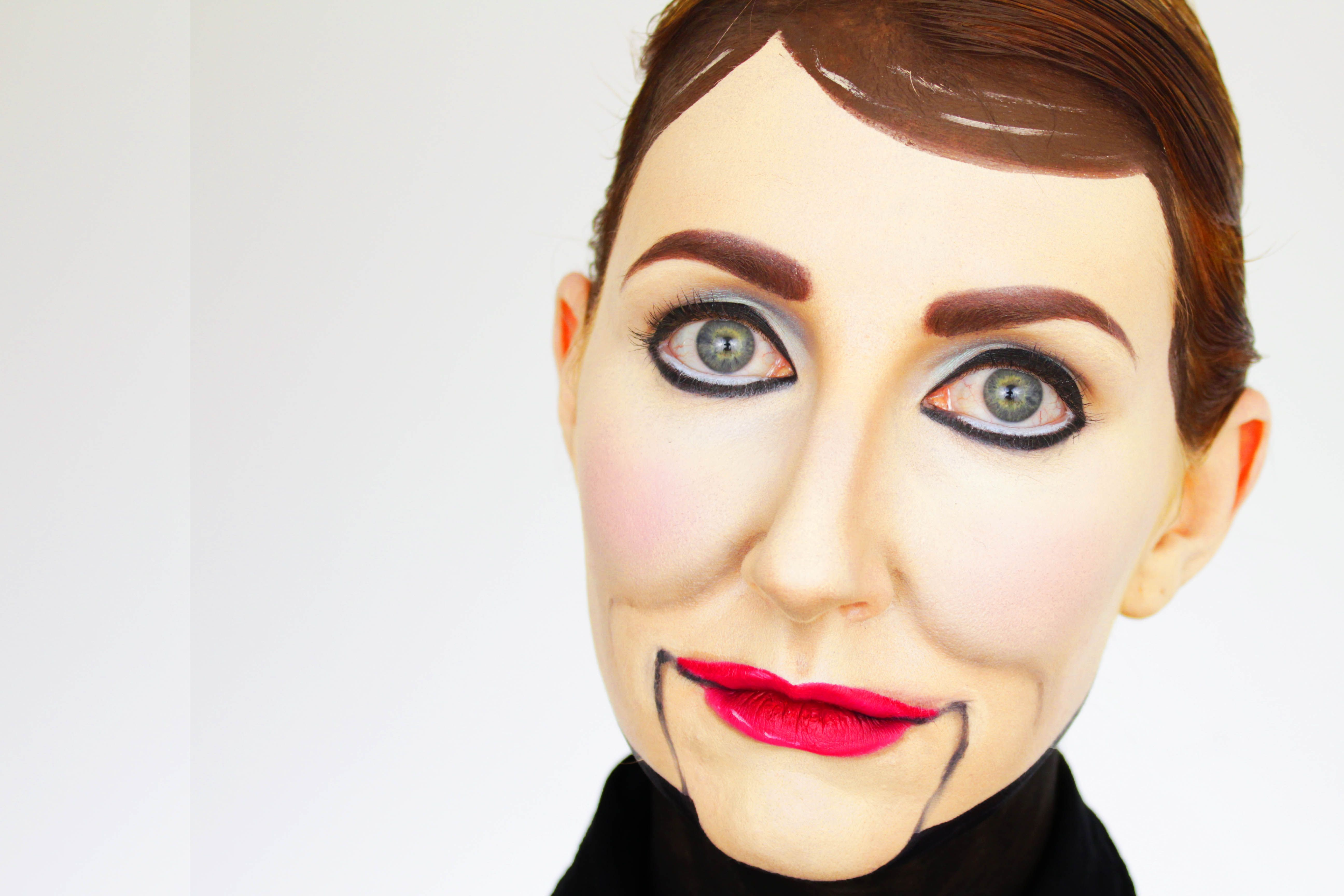 Learn how to create original scripts for puppet and ventriloquism creepy ventriloquists dummy a halloween makeup tutorial sharon baditri Choice Image