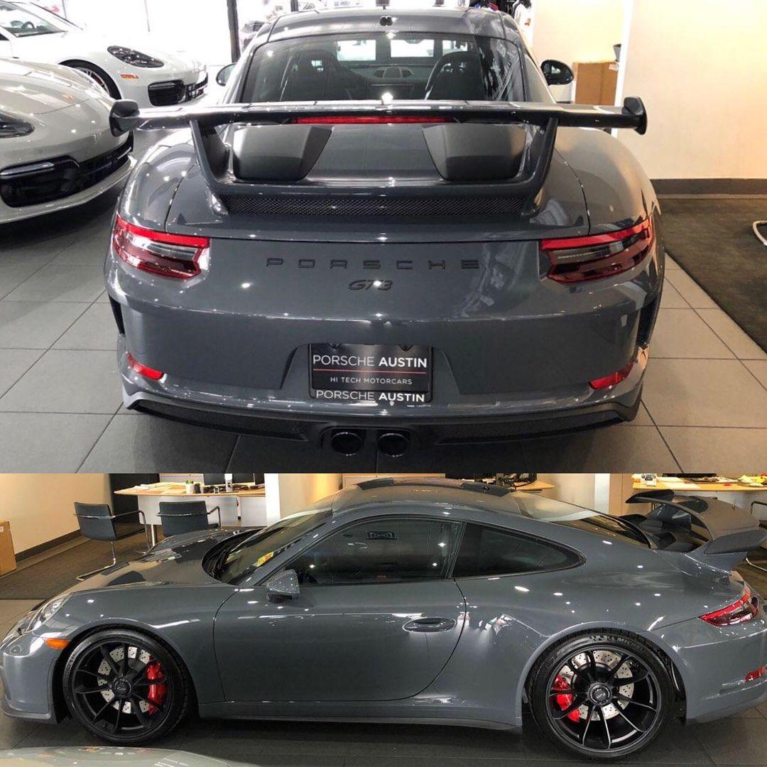 Grigio Telesto Metallic Z69 Porsche Gt Porsche Gt3 Porsche Cars