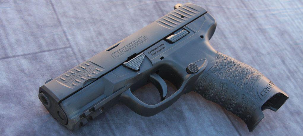 First Look: Walther Creed Pistol   BadAsSery   Guns, Hand