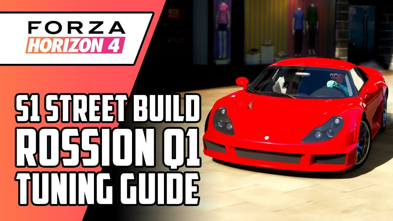 Forza Horizon 4 Tuning Guide Gameplay 2010 Rossion Q1 S1